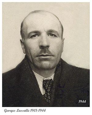 Georges Lassalle, militant communiste interné à Gurs, évadé en gare de Toulouse au cours de son transfert vers le camp de Nexon.