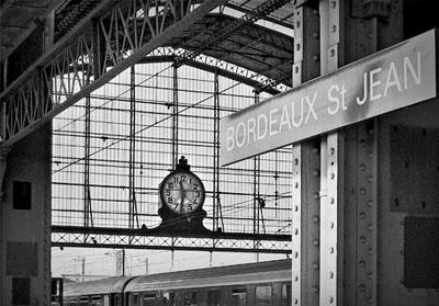 Gare de Bordeaux Saint-Jean.