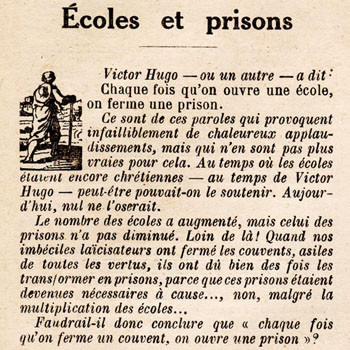 Le Pèlerin du 28 avril 1929