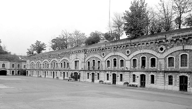 Fort de Villeneuve Saint-Georges (Val de Marne).