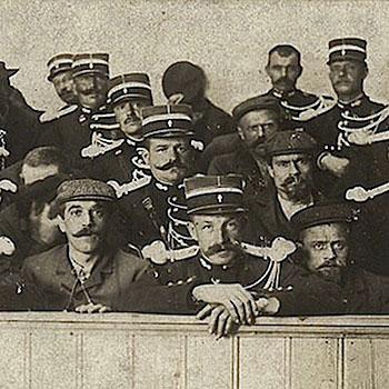 Jugement de la bande à Pollet à la cour d'assises de Saint-Omer, juin 1908.