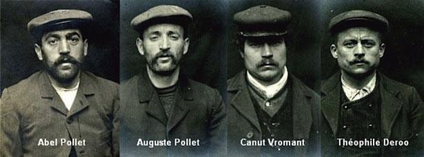 Arrestation des principaux meneurs de la bande à Pollet. Béthune, 1908.