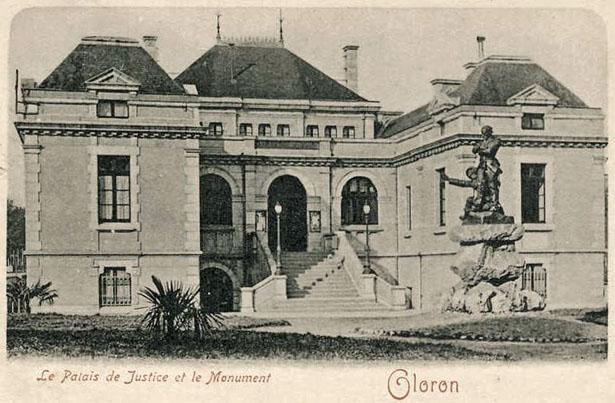 Palais de Justice d'Oloron Sainte-Marie.