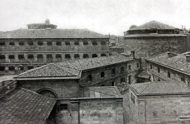 Prison du Fort du Hâ, Bordeaux, 1940.