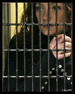 Florence Cassez emprisonnée au Mexique. Photo AFP