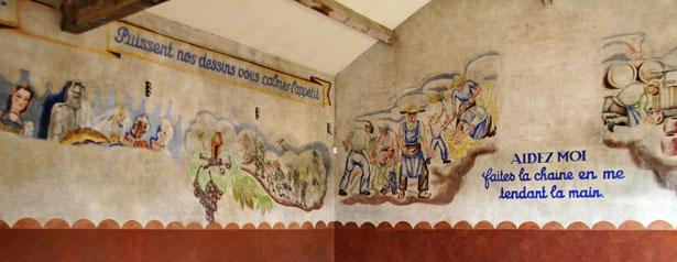 Fresque du Camp des Milles.
