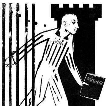 """Le criminel """"irrécupérable"""" et le témoin de Jéhovah, dessin Rapaport."""