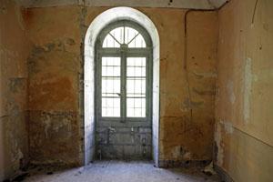 L'une des cellules du fort du Portalet. Photo Jacky Tronel