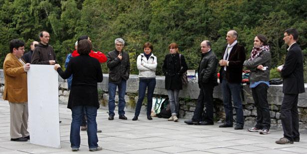 Visite du Fort du Portalet, le samedi 13 octobre 2012.