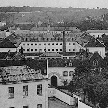 Poissy, vue de la Maison centrale.