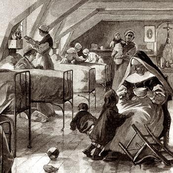 Prison Saint-Lazare, 1902.
