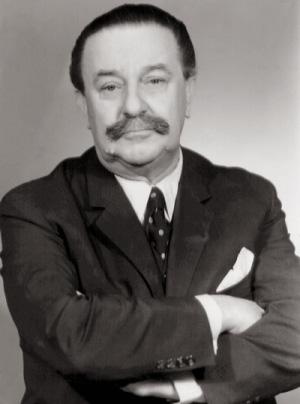 Portrait d'Adolf Hoffmeister.