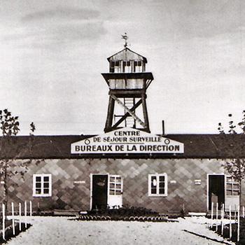 Entrée du camp de Voves (Eure et Loir)