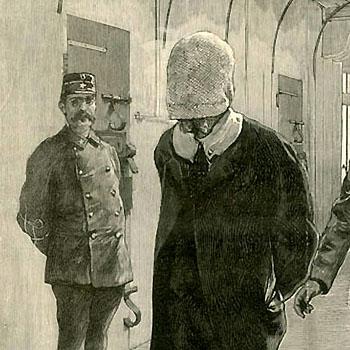 Le prisonnier au masque d'étoffe de la prison d'Étampes, l'Illustration du 15 avril 1893