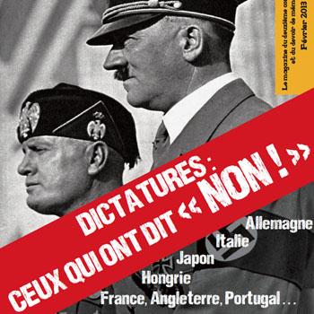 """Couverture du magazine """"Dernière Guerre mondiale"""" de février 2013."""