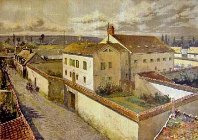 La prison d'Étampes en 1893 (gravure de presse).