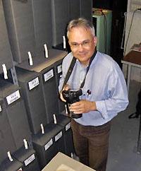 Jacky Tronel, attaché de recherche à la FMSH, Fort de l'Est.