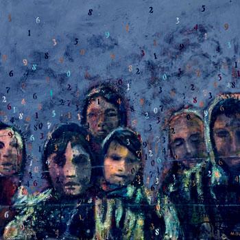 «Témoigner de ces vies – Peindre la mémoire » Francine Mayran, 2012