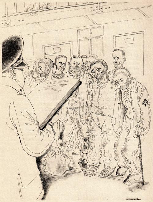 « Arrivage », Ralph Soupault, Fresnes, reportage d'un témoin, 1947.