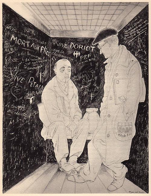 """""""Épuration"""", Ralph Soupault, Fresnes, reportage d'un témoin, 1947, p. 31"""