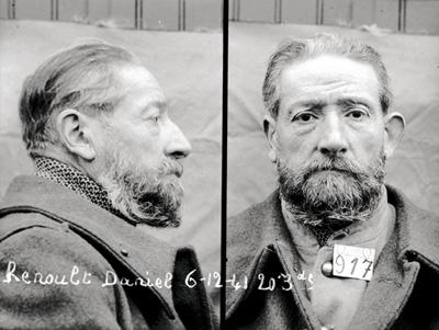 Daniel Renoult, conseiller général de la Seine, interné au camp de Gurs en 1940