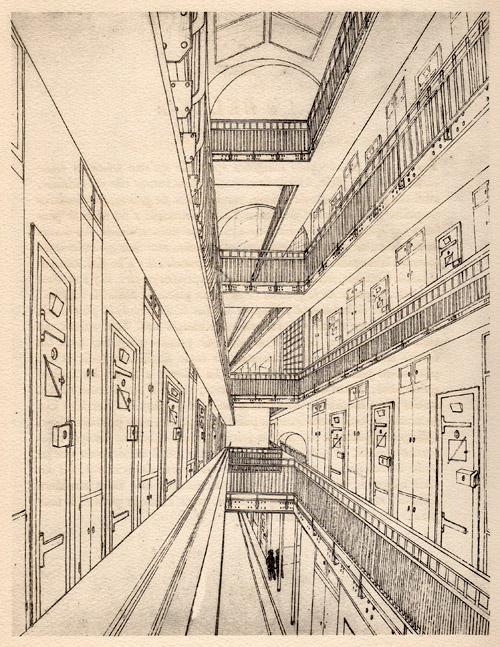 « Le navire immobile », Ralph Soupault, Fresnes, reportage d'un témoin, 1947.