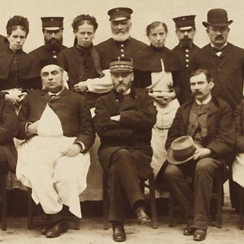 Personnel du dépôt de mendicité de Villers-Cotterêts. Source : Archives de la Préfecture de Police de Paris