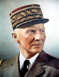 Portrait du général Huntziger