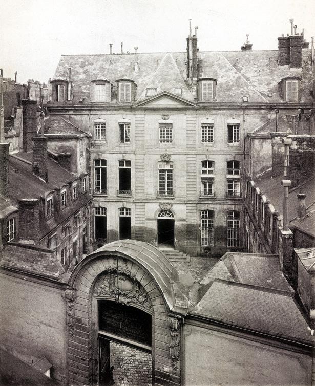 Hôtel des Conseils de guerre. © Commission du Vieux Paris, cliché Barry.