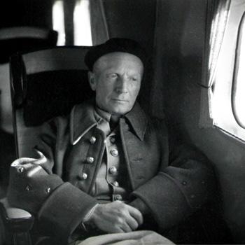 Général Huntziger, Source Service Cinéma de l'Armée, octobre-novembre 1941.