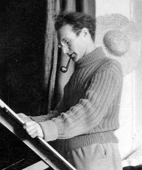 Henry Gowa à Nice en 1936
