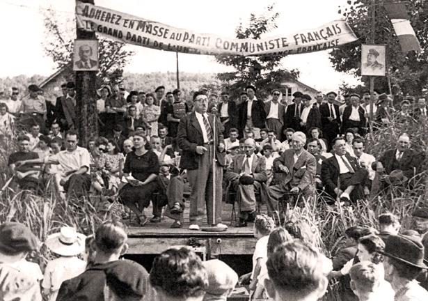 Lalinde, à la Fête de la Maroutine, le 15 août 1945