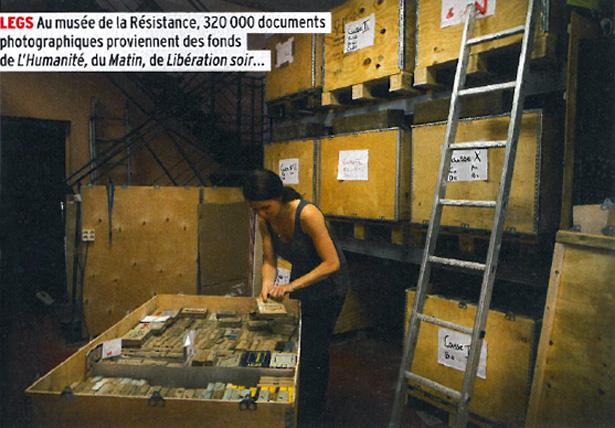Un aperçu du fonds photographique des journaux Le Matin, Libération Soir et Le Populaire…
