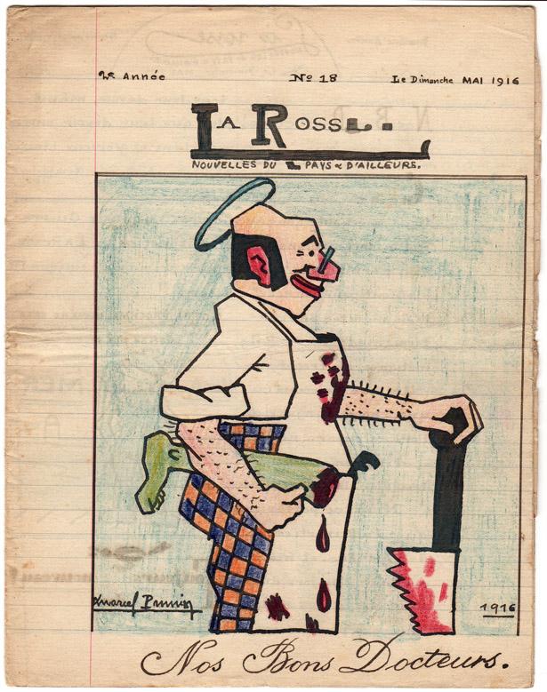 La Rosse, journal de Poilus originaire de la région du Havre, n° 18, mai 1916.