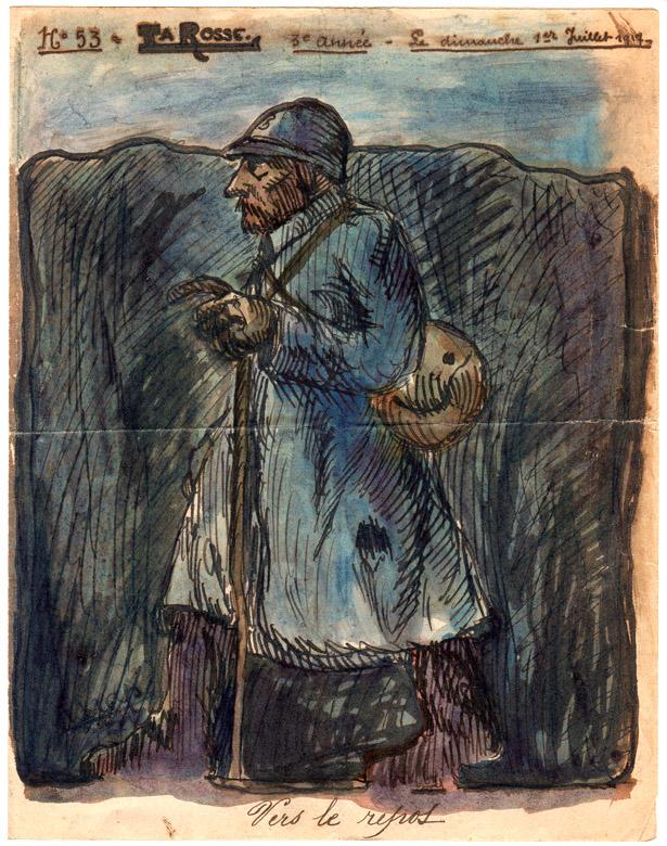 La Rosse, journal de Poilus originaire de la région du Havre, n° 53, 1er juillet 1917.