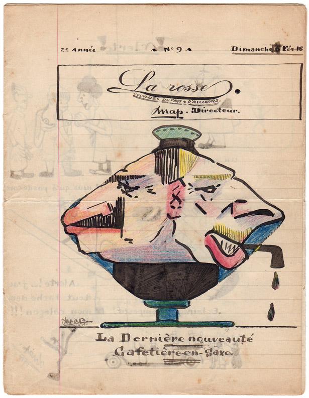"""Journal pour Polius """"La Rosse"""" n° 9, 13 février 1916."""
