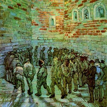 Van Gogh « La ronde des prisonniers »