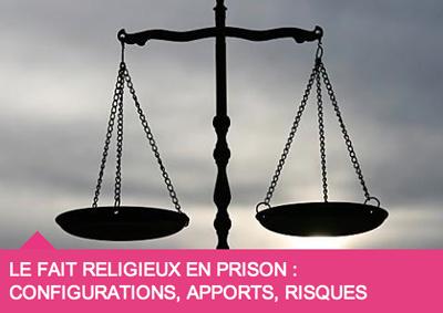 """""""Le fait religieux en prison"""" à Sciences Po Paris, les 28 et 29 octobre 2013."""