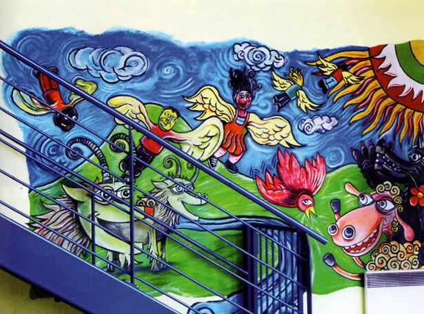La Maison d'arrêt de Strasbourg (Bas-Rhin) a été mise en service en 1988 afin d'accueillir les détenus de la Maison d'arrêt Sainte-Marguerite, de la prison de la rue du Fil et de la Maison d'arrêt de Saverne, fermée en 1990. On y trouve une palette complète d'activités socio-culturelles. Photo Étienne Madranges.