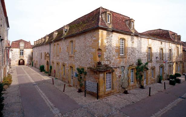 L'hospice et l'hôpital étaient situés à l'angle de la rue Notre-Dame et de la rue Jean-Galmot. Photo © Bastideum