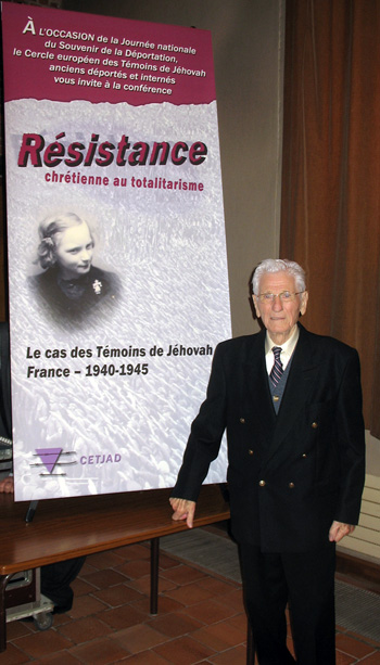 Louis Piéchota à Douai en avril 2012, photo Frédéric Roussel