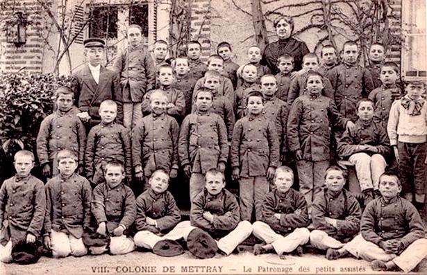 Colonie de Mettray –Le Patronage des petits assistés.