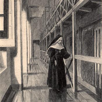 La « Ménagerie » de la prison Saint-Lazare, L'Illustration du 20 février 1897 (pages 135 et 136)