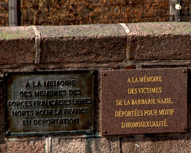 Camp de concentration de Natzwiller-Struthof. Plaques mémorielles. Photo Claude Truong-Ngoc / Wikimedia Commons.