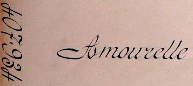 Dossier Amourelle Jean, Gaston, Claire, Archives de la Préfecture de Police de Paris, cote 77 W 4012