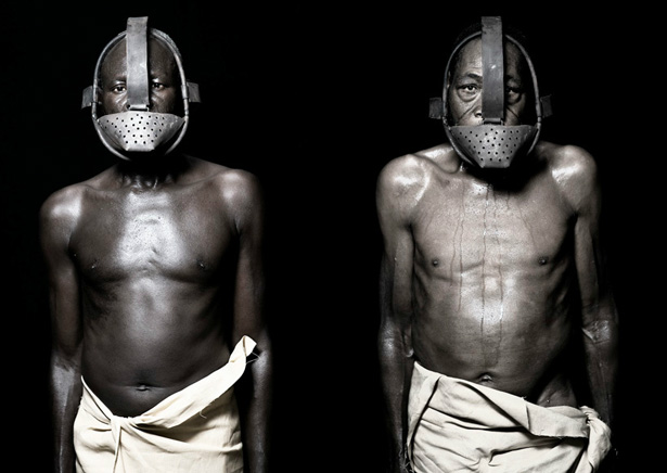 "Expo photo Fabrice Monteiro : ""Marrons"" Esclaves fugitifs… Masques"