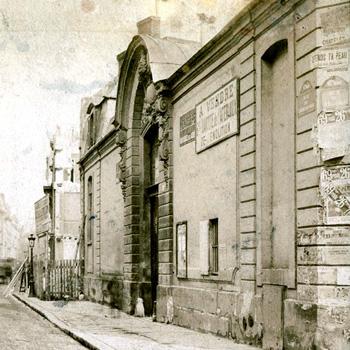Hôtel des Conseils de guerre, 37 rue du Cherche-Midi. Photo Henri Godefroy, 1907.
