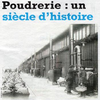 Dans son édition du mercredi 31 décembre 2014, Le Démocrate indépendant célèbre le centenaire de la Poudrerie nationale de Bergerac.