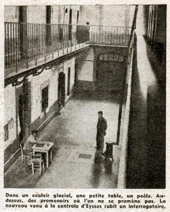 Le Pèlerin du 27 mai 1951, centrale d'Eysses, Guy Mauratille