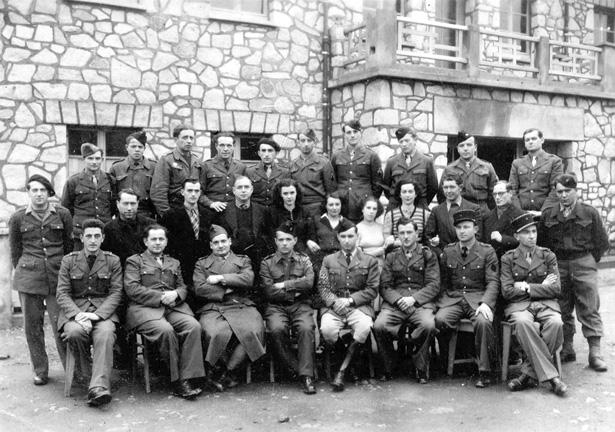 Camp de prisonniers de guerre allemands de La Trémouille, Tulle, collection Hervé Dupuy